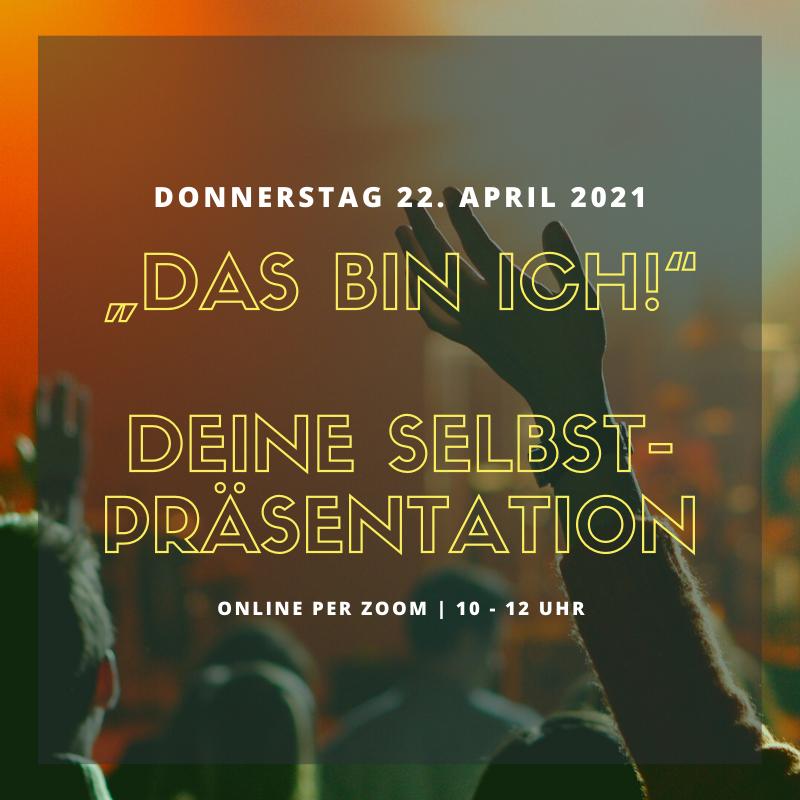 Ankündigung Veranstaltung Selbstpräsentation von Dr. Ilona Rau