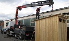 Das Dachfenster kommt übers Dach - gelenkt von Tobias Lutz