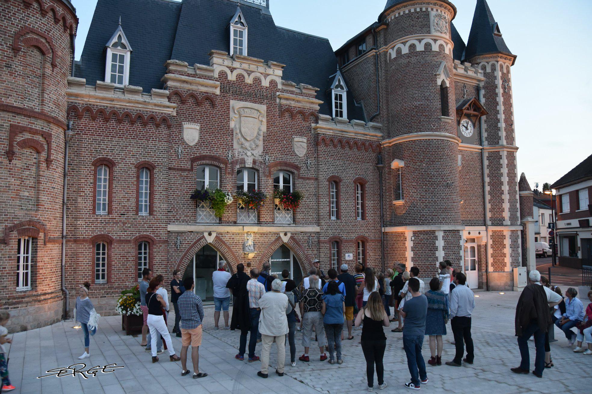"""(DR Serge Rondot) """"Les Fantômes du vendredi""""-Val de Somme-Corbie-CASA Chambres d'hôtes- Guesthouse-B&B-Amiens"""