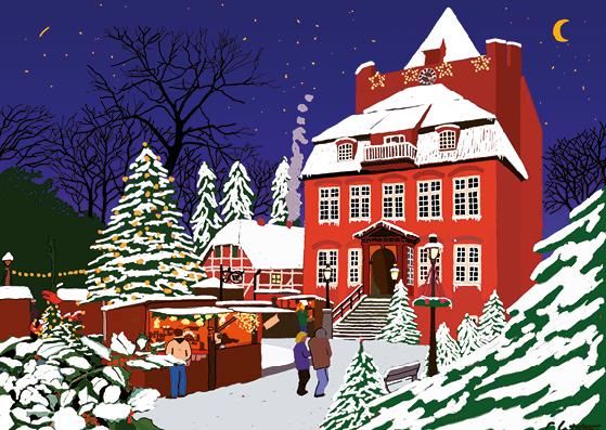 Weihnachtskarte Nr. 66