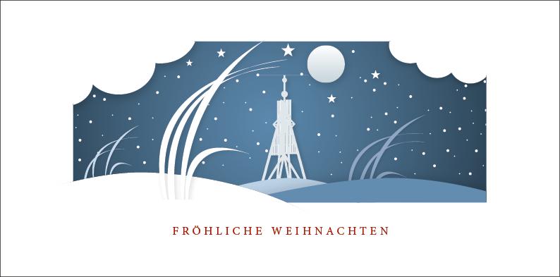 Weihnachtskarte Nr. 169