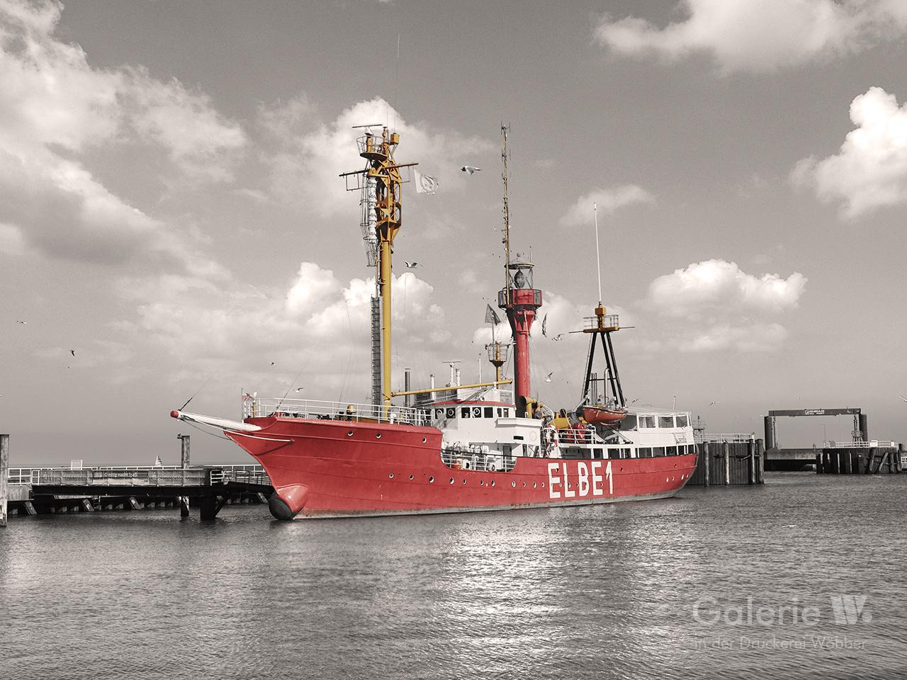 40128 Feuerschiff Elbe 1