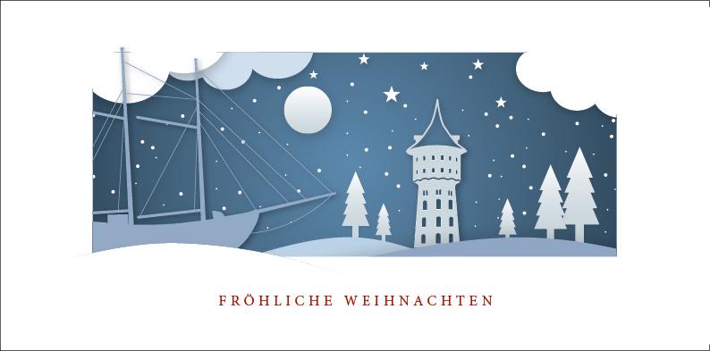 Weihnachtskarte Nr. 170