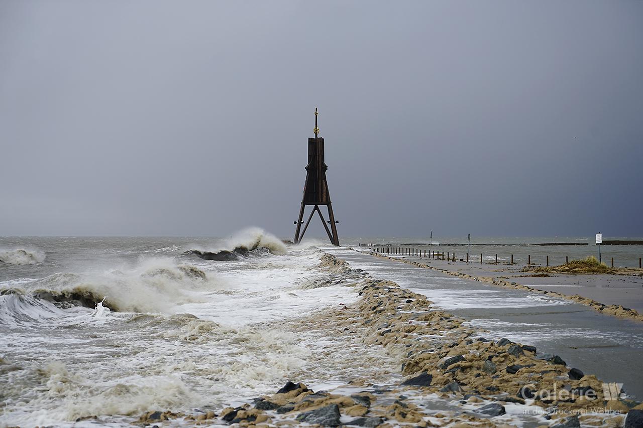 31543 Kugelbake, Sturmflut 2020