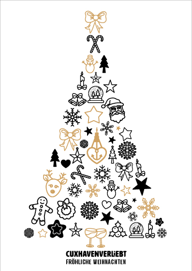 Weihnachtskarte Nr. 211