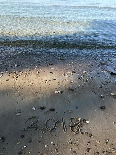 L'édition 2018 est gravé dans le sable de Porquerolles.