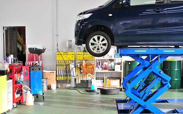 ケイバッカ村上店で車検工場オープン