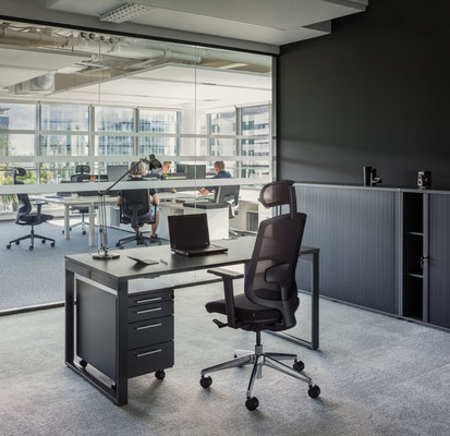 Un aménagement de bureaux professionnels dans le Val d'Oise (95)