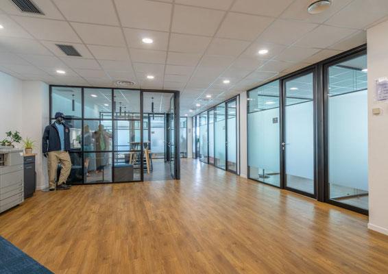 Rénovation de bureaux dans les Hauts de Seine par l'agence d'architecture intérieure Vice Versa