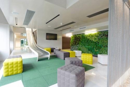 la dcoration intrieure de bureaux au service de la dtente