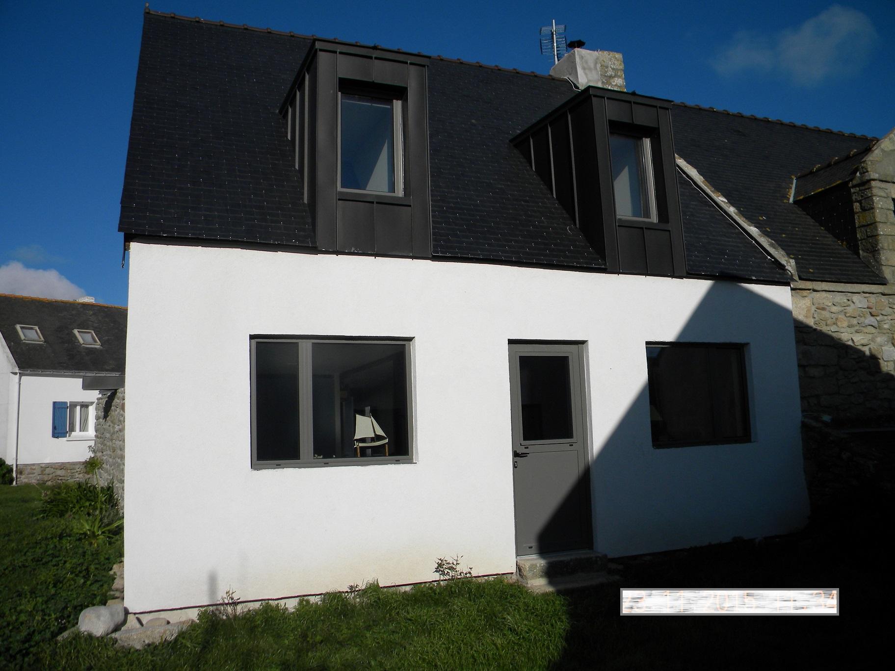 réhabilitation complète d une maison sur l île d Hoedic