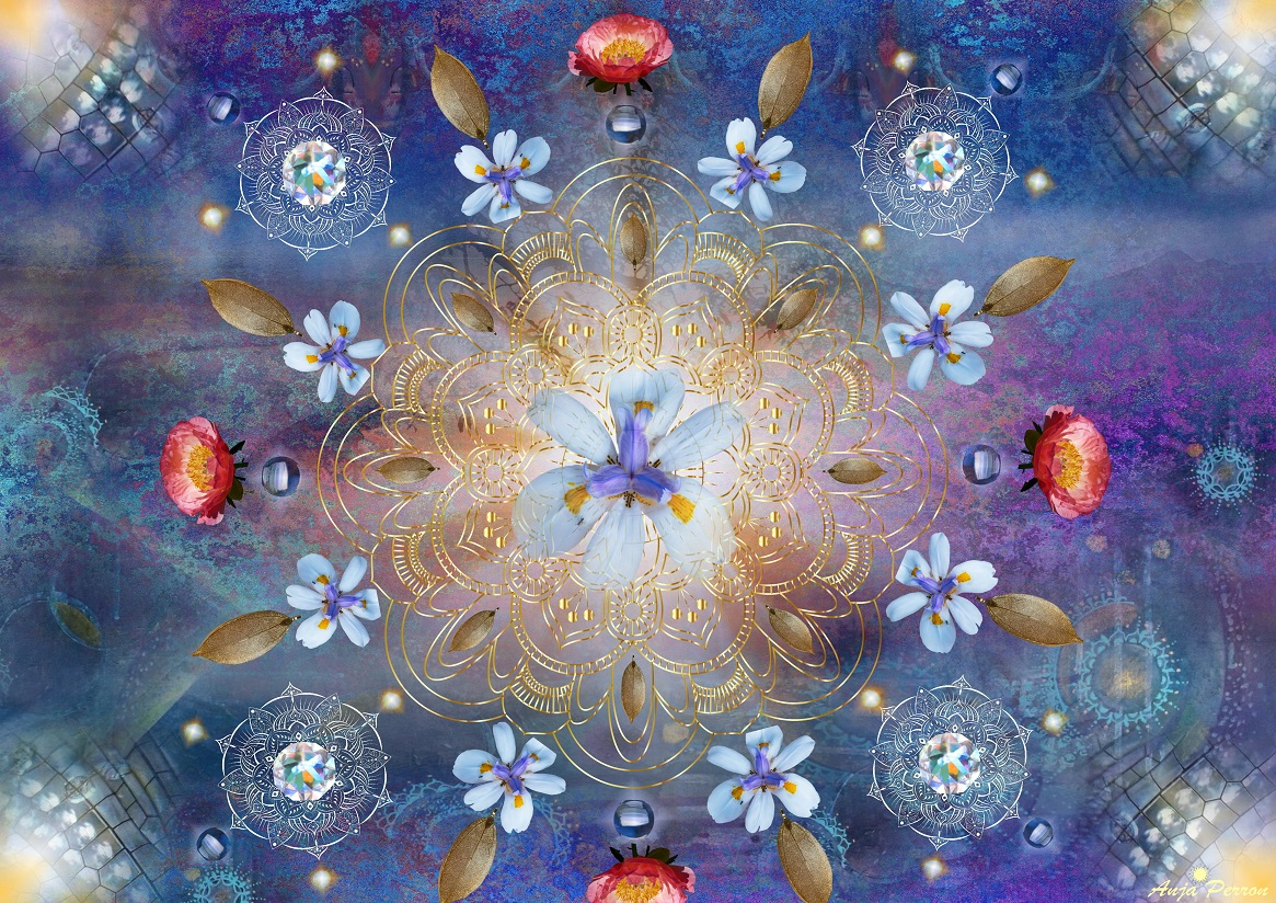 3 - Blumen-Mandala