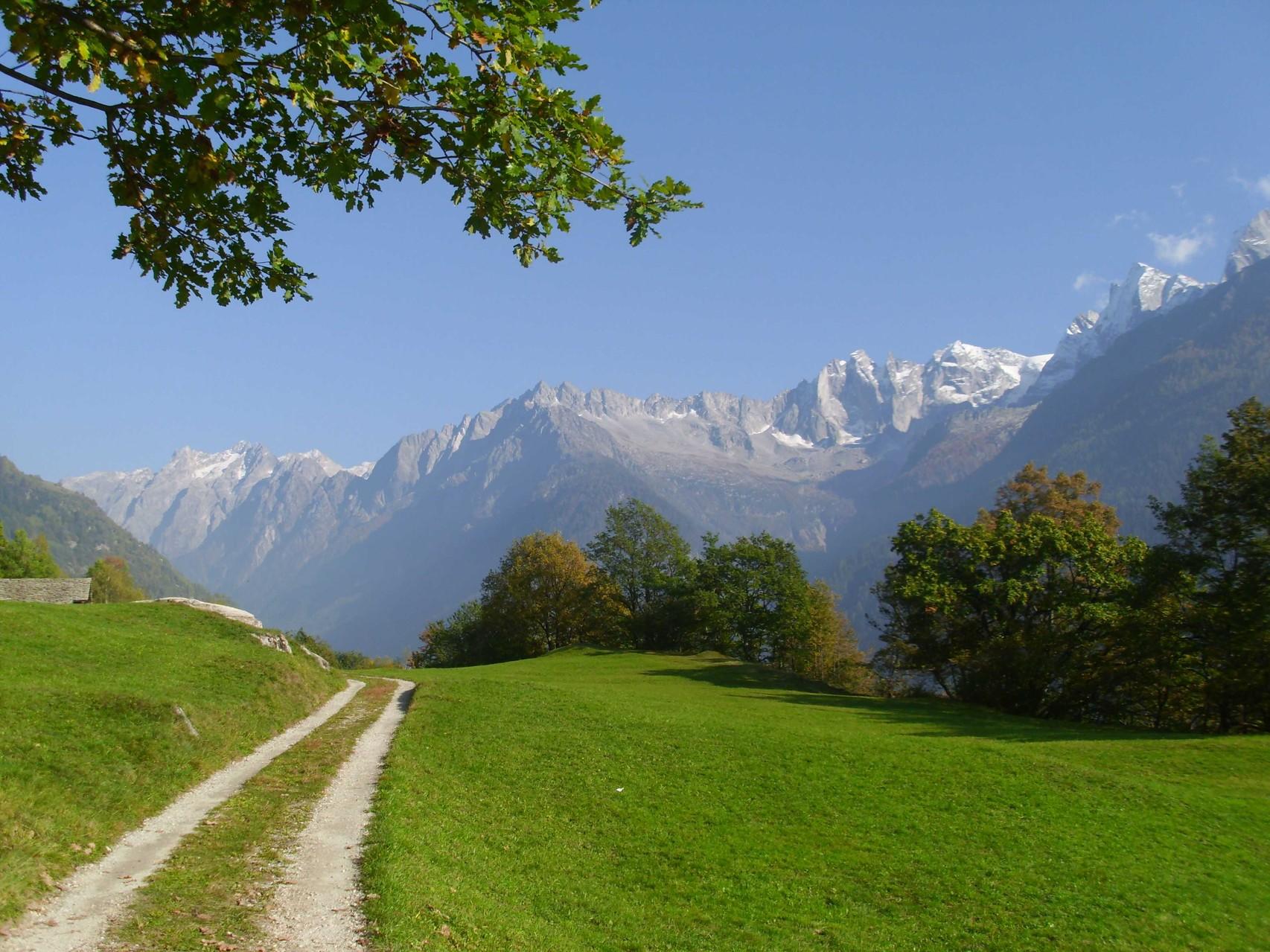 Schöner Spazierweg