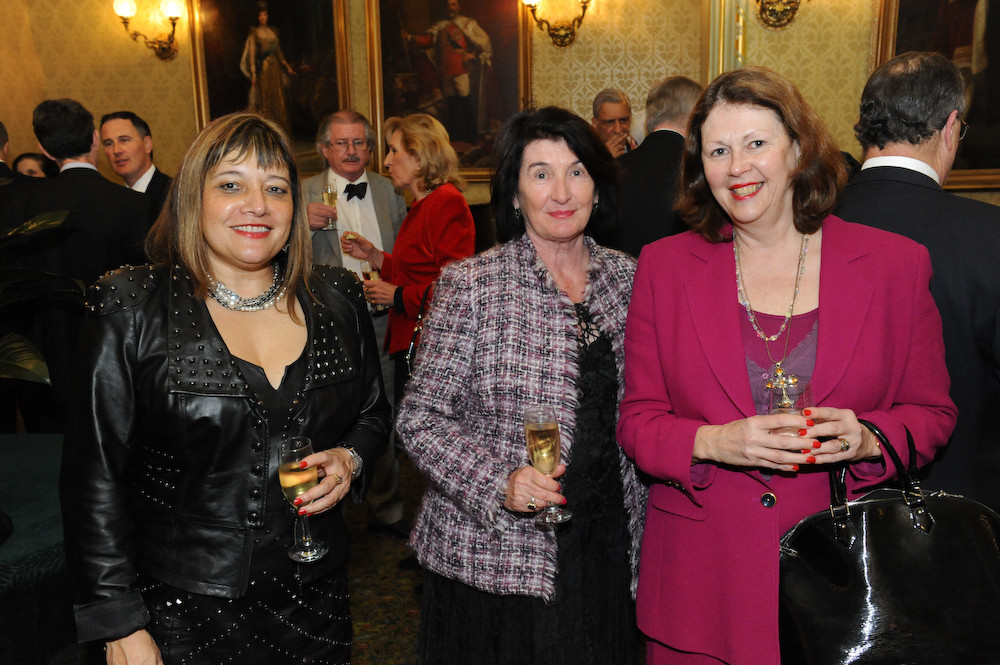 Guests at the reception for Secretary-General and launch of 'Friends of the Commonwealth'