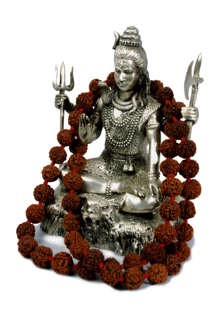 Stature of Lord Shiva,Hindu God Rudraksha found in the middle ages of Nepal