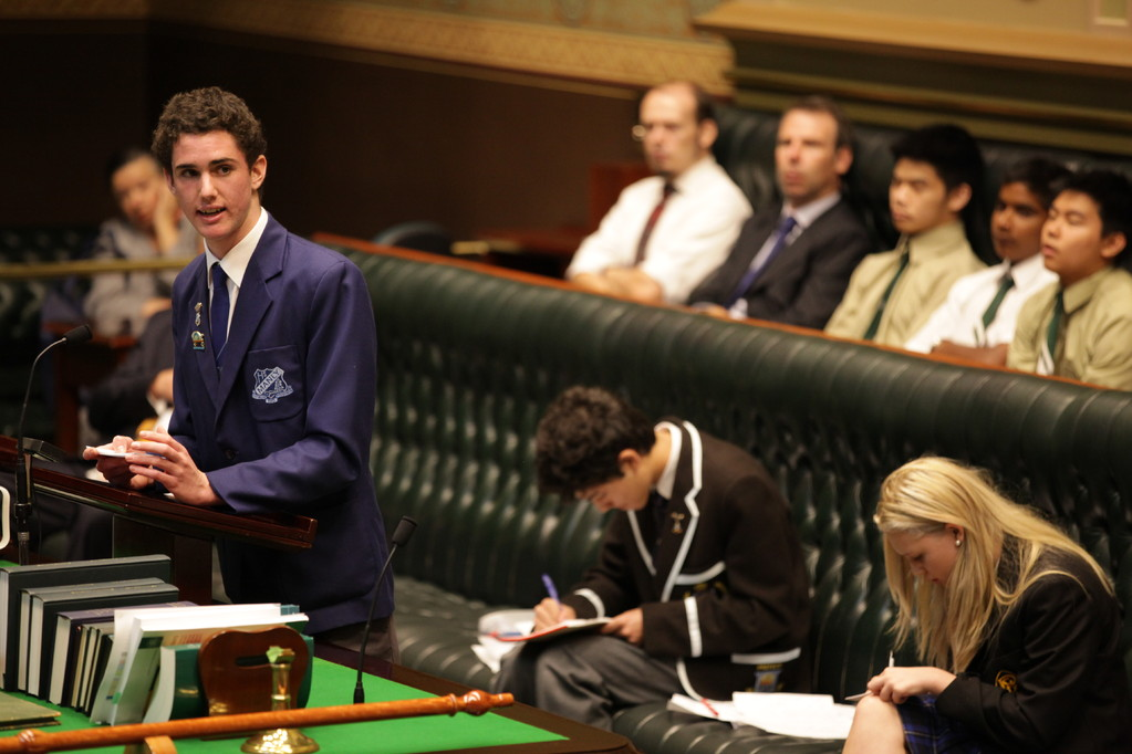 NSW Public Schools start the debate on the topic 'that cultural differences in the Commonwealth are a source of strength not weakness'