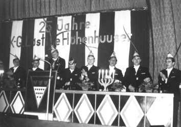 Jubiläumssitzung zum 25-jährigen Bestehen Helenen Theater