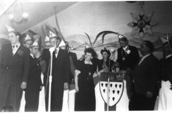 Sitzung 11.11.1953 Saal Dengler (Denglers Loch)