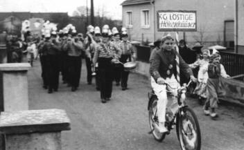 Die KG im Veedelszoch 1954