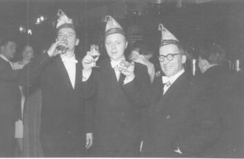 Willi Quirl, Jupp Decker, Jupp Decker sen. auf der SPD-Sitzung 1962