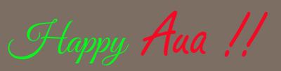 Happy Aua