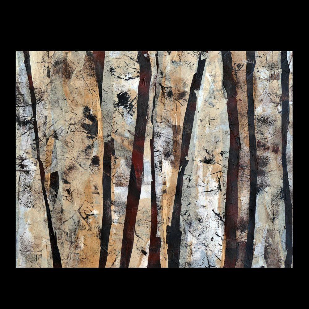 Elisabeth Springer-Heinze (Germany), Collage - Trees