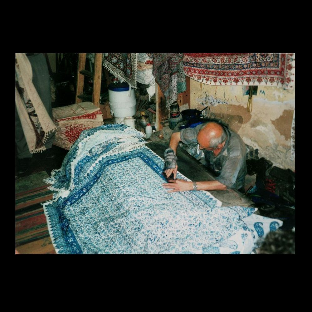 Vera Fillies (Germany), Fabric-Printing - Iran
