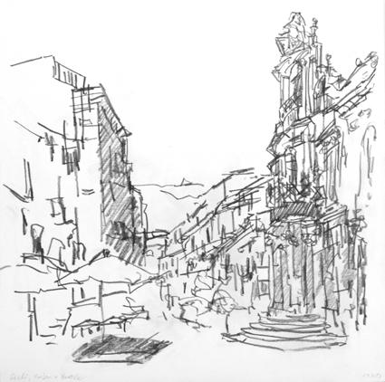 Profan und Barock (Zeichnung)