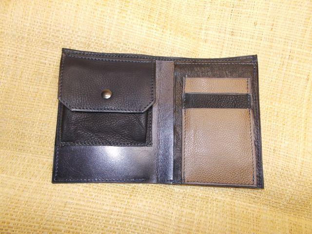 1 grande poche billet 1 poche monnaie 1 poche papier 3 poches carte
