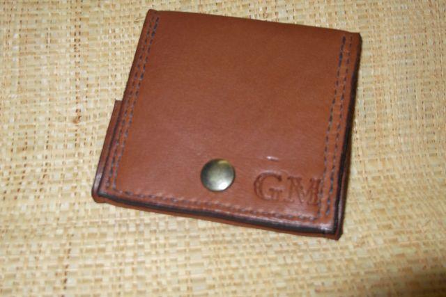 Cuir veau  1 grande poche monnaie