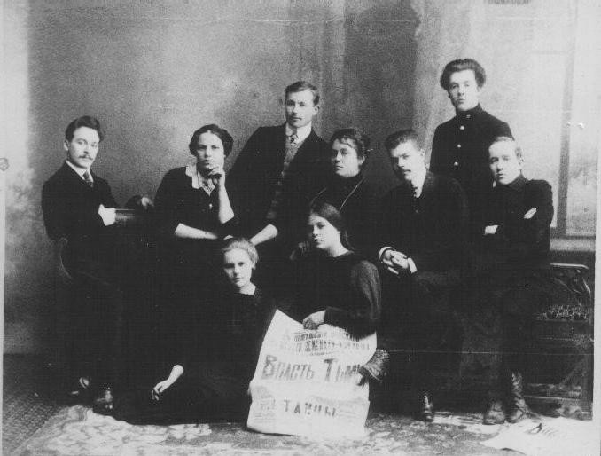 Кружок Т.В.Шабановой, 1910-1917 гг.