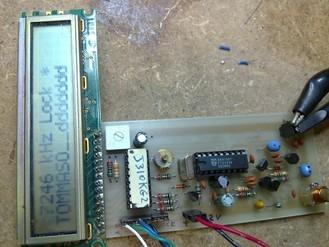 PLL CON PIC16F628 0/ 30 MHz