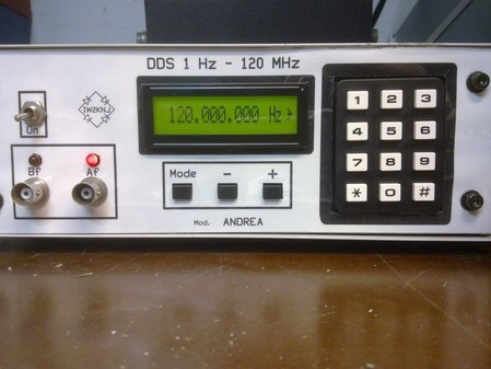 GENERATORE DDS 120 MHz