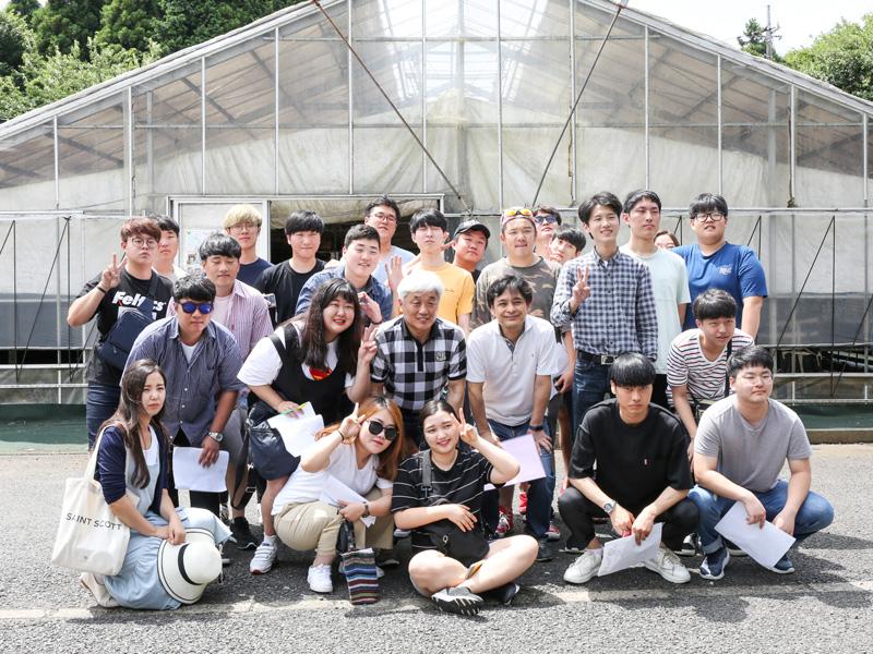 2017年7月韓国農業大学の皆様