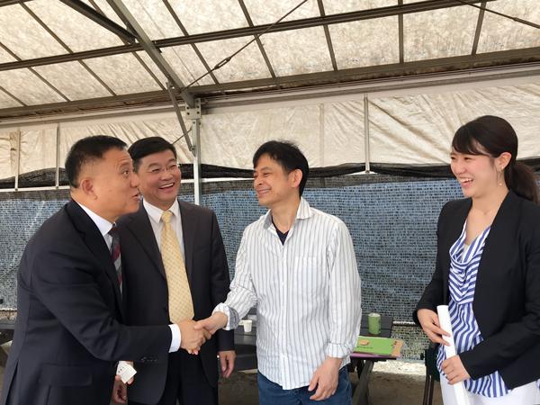 2018年5月 中日産学投資促進センターを通して中国より10名様