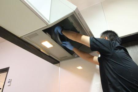 レンジフードの洗浄クリーニング|お掃除ハウス新潟【阿賀野市】