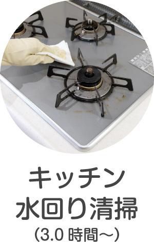 キッチン・流し台・水回りの清掃・洗浄・クリーニング