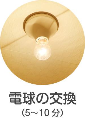 電球の交換