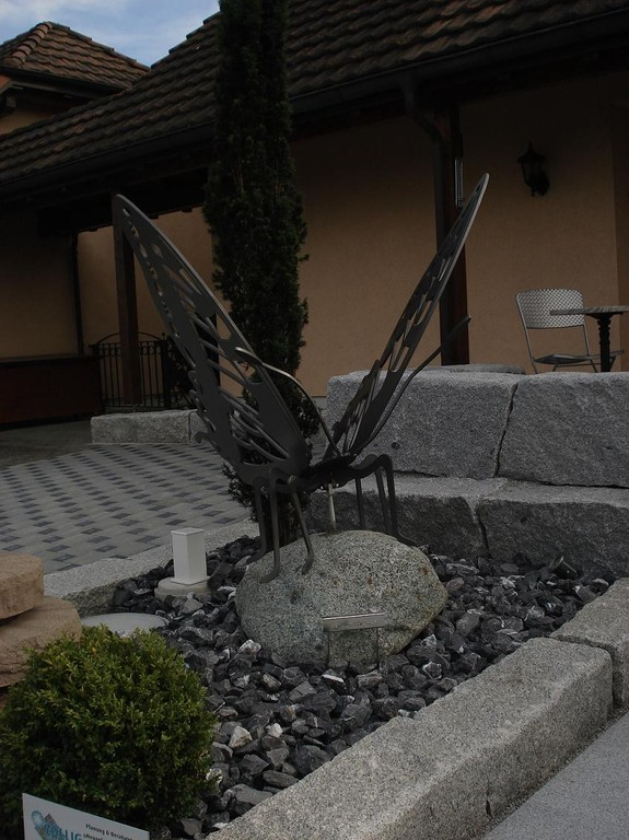 Schmetterling Skulptur