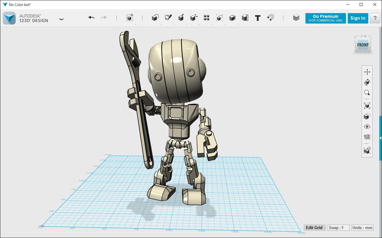 I nostri corsi tutto per la stampa 3d for Programmi gratis per disegnare in 3d