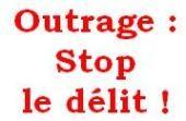 """Clic = Contre le """"Délit d'outrage"""""""