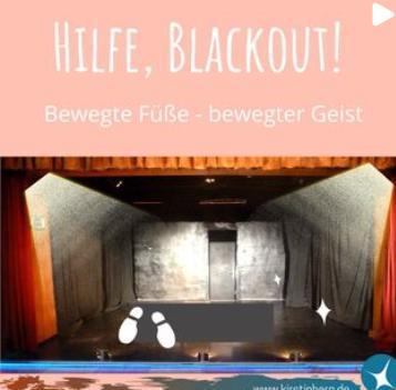 Hilfe Blackout!