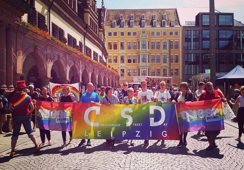 Wir waren auch in diesem Jahr beim #CSDLeipzig dabei!