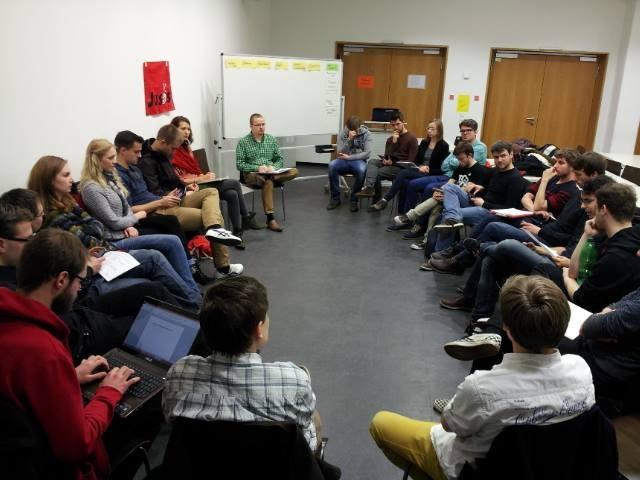 Diskussion zum Koalitionsvertrag mit der CDU im Bund