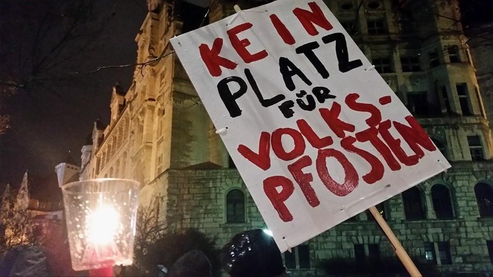 Auch 2016 zeigen wir Flagge gegen Nazis in Leipzig