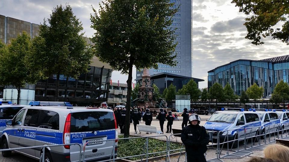 Kein Platz für Rassismus in Leipzig! #noofd