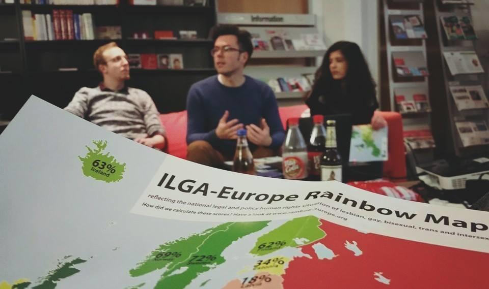 Wir diskutieren die rechtliche Situation von LGBTI*-Menschen in Deutschland und Europa