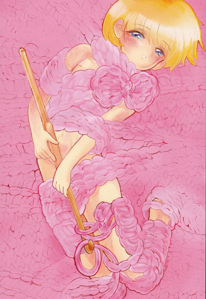 手編みのボク♥