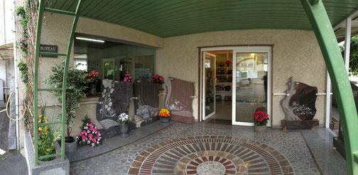 Magasin de marbrerie funéraire et décorative
