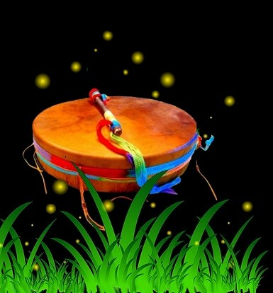 Firefly Drum in an enchanted world